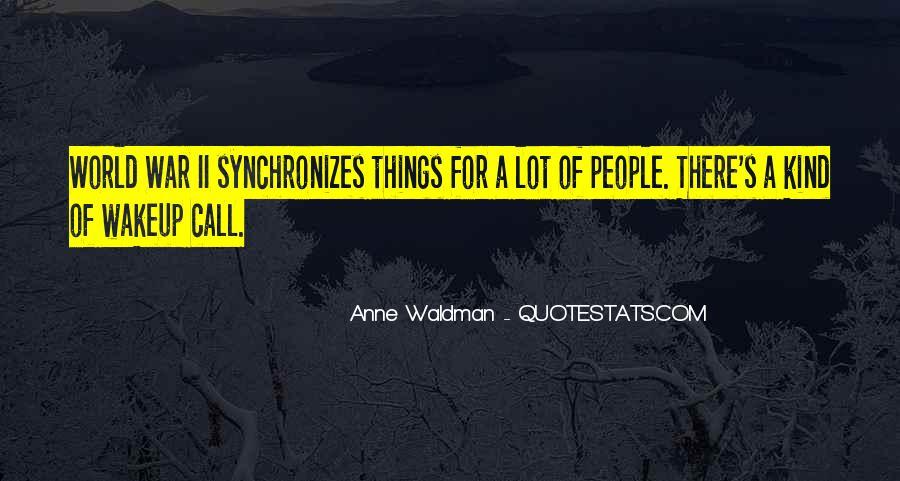 Anne Waldman Quotes #908227