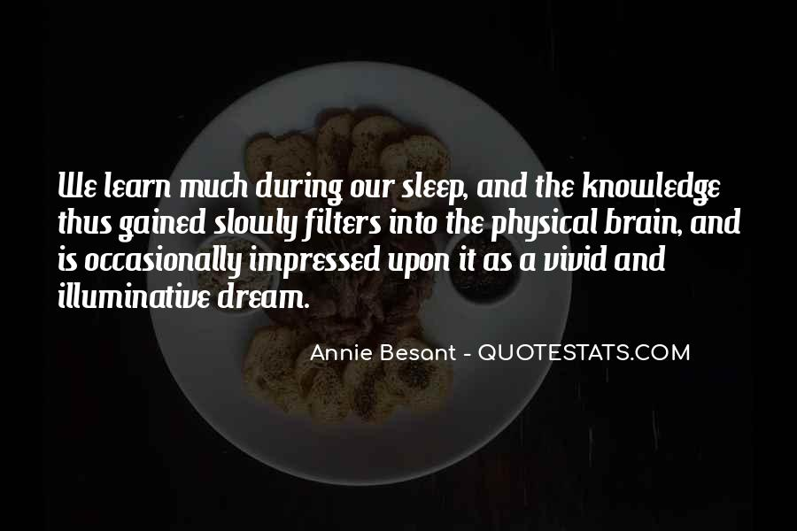 Annie Besant Quotes #1505800
