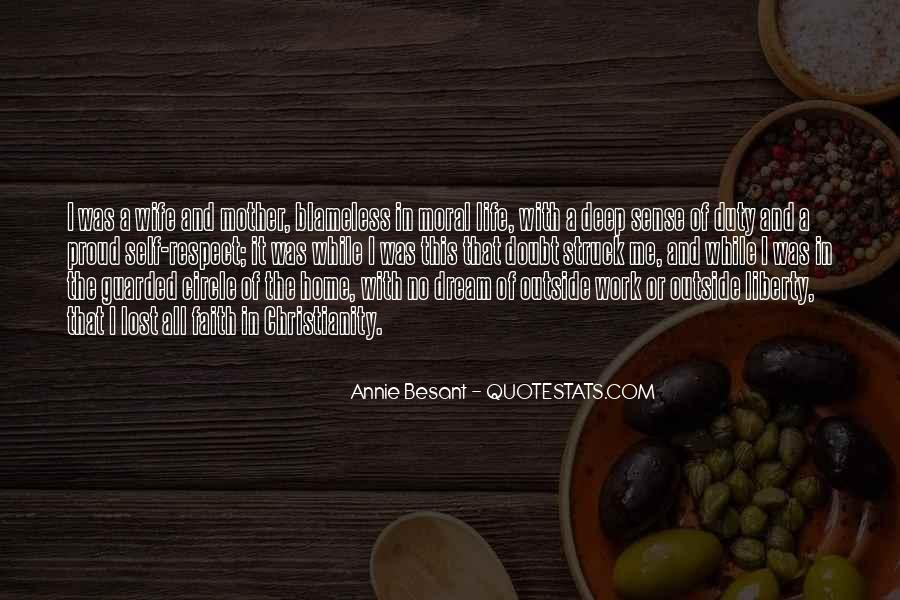 Annie Besant Quotes #1830236