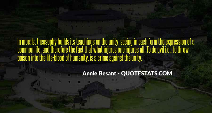 Annie Besant Quotes #189025