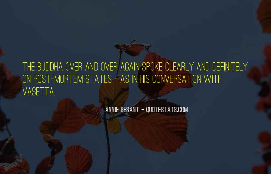 Annie Besant Quotes #50305