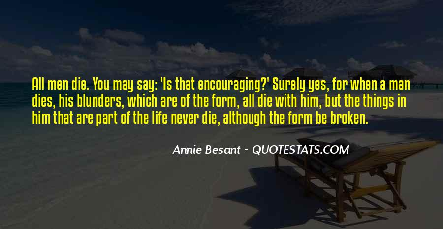 Annie Besant Quotes #810465