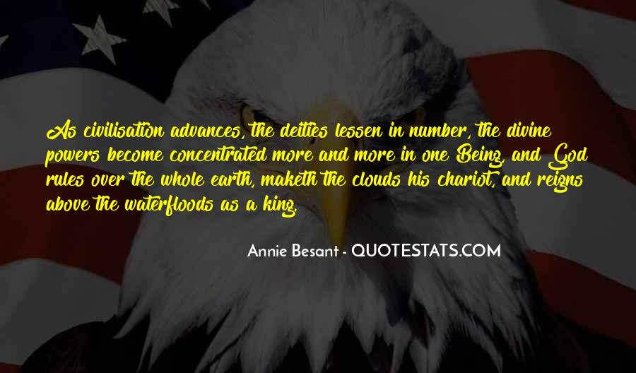 Annie Besant Quotes #916593