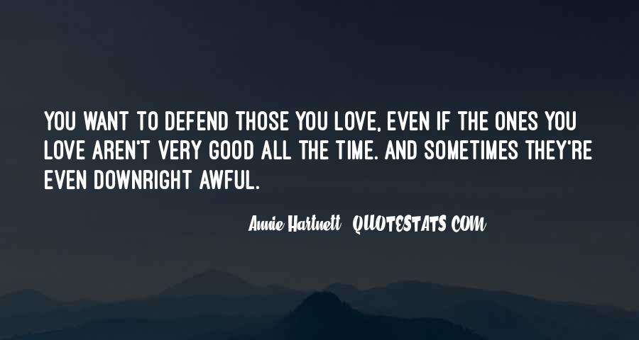 Annie Hartnett Quotes #1681801