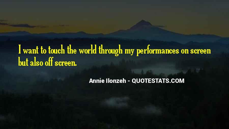 Annie Ilonzeh Quotes #164924