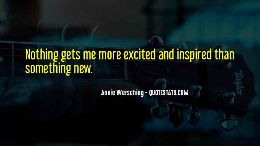 Annie Wersching Quotes #1039671