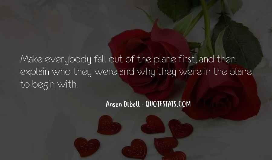 Ansen Dibell Quotes #1009245