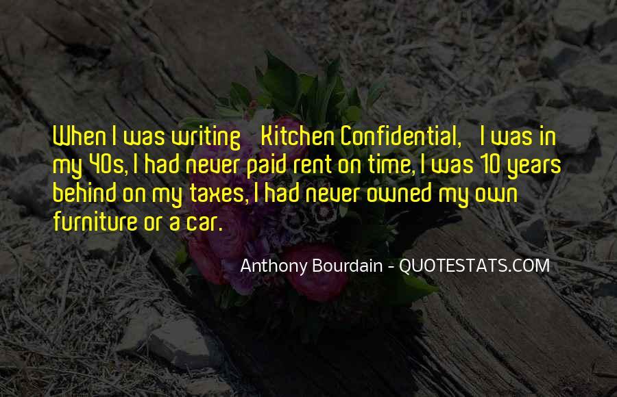 Anthony Bourdain Quotes #1154419