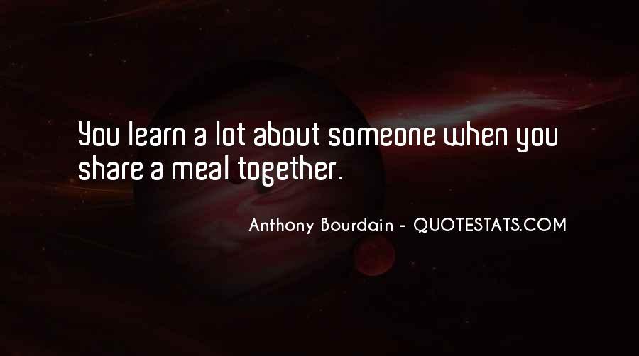 Anthony Bourdain Quotes #1208164