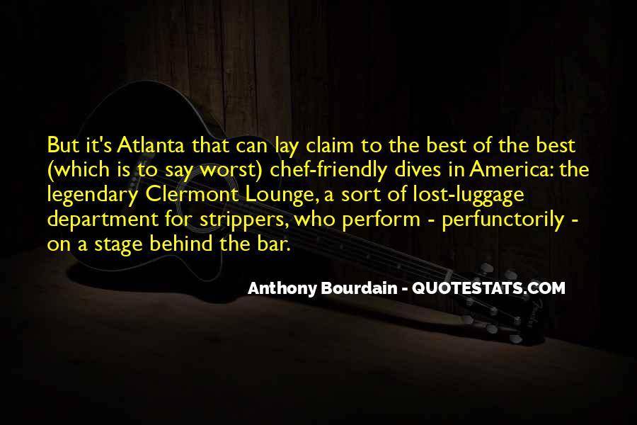 Anthony Bourdain Quotes #1748437