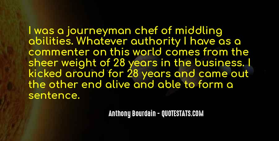 Anthony Bourdain Quotes #1851043