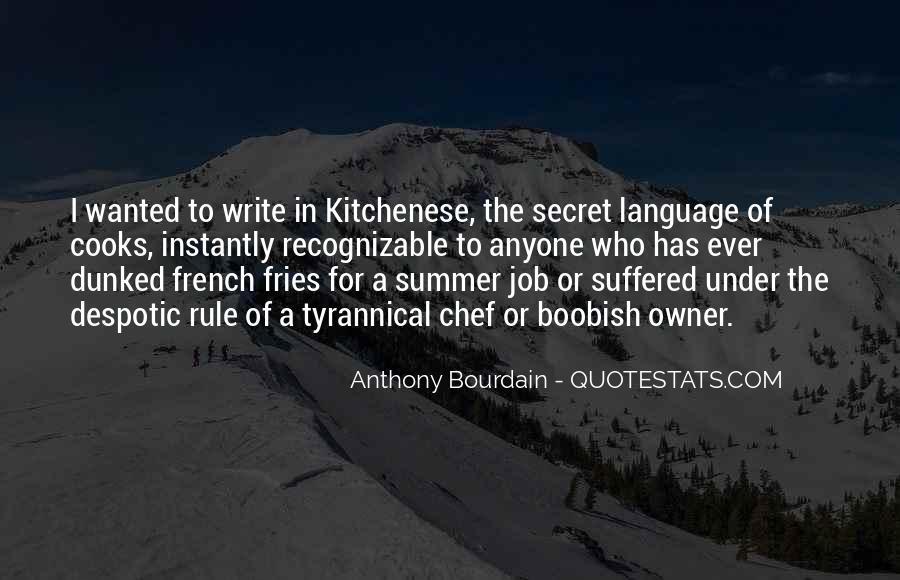 Anthony Bourdain Quotes #905984