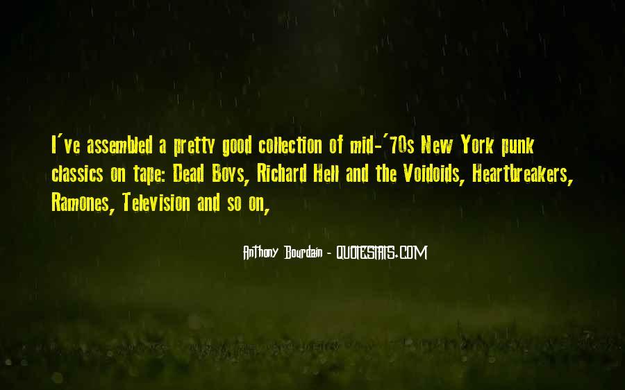 Anthony Bourdain Quotes #992401