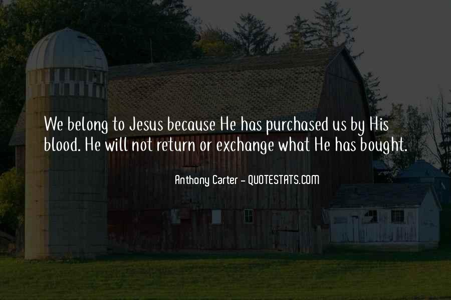 Anthony Carter Quotes #1863377