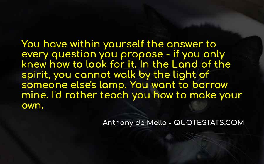 Anthony De Mello Quotes #1394565