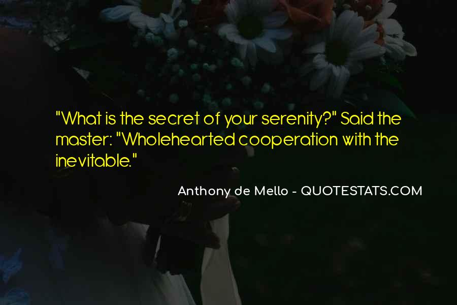 Anthony De Mello Quotes #1749929