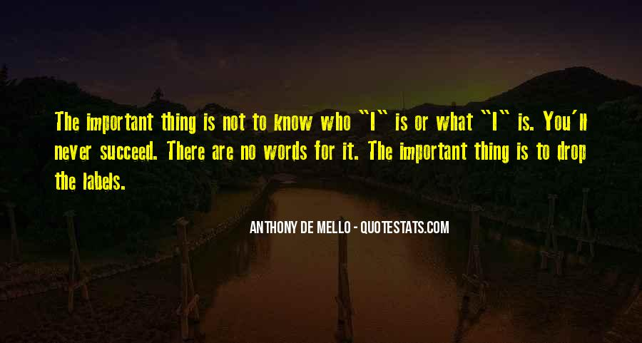 Anthony De Mello Quotes #319447