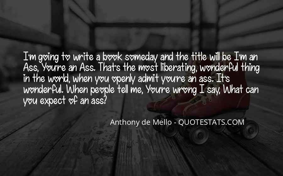 Anthony De Mello Quotes #756012