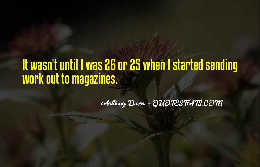 Anthony Doerr Quotes #1036846