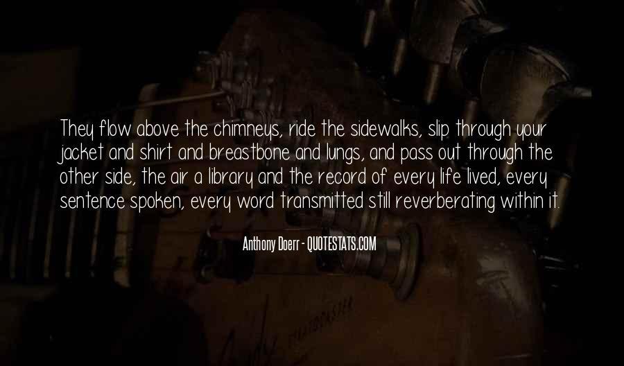 Anthony Doerr Quotes #1864297