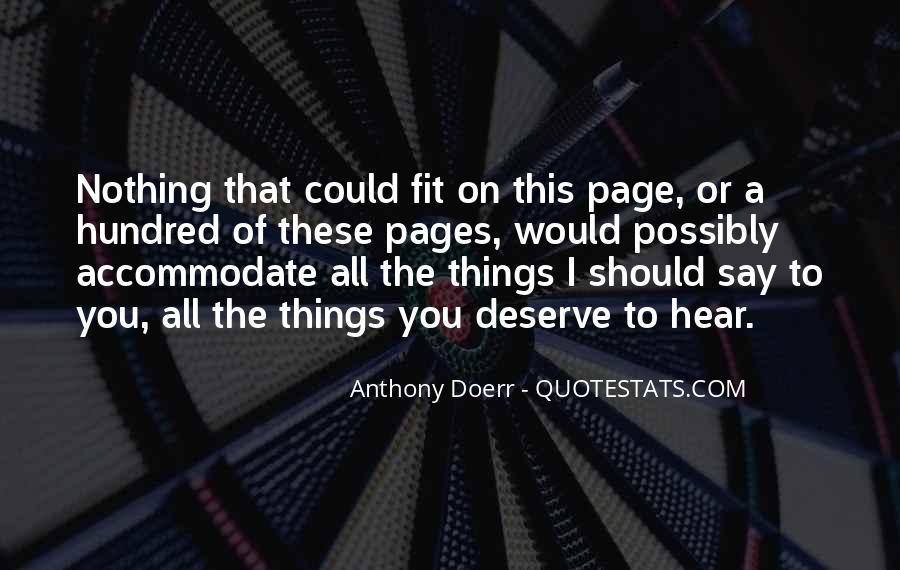 Anthony Doerr Quotes #668053