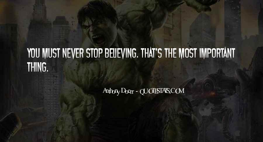 Anthony Doerr Quotes #909693