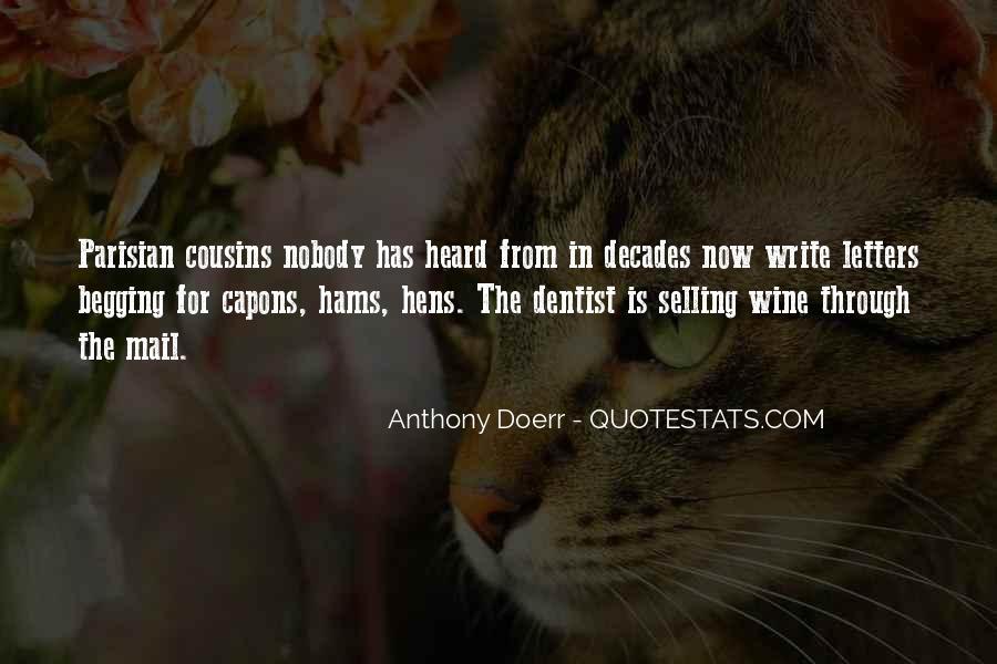Anthony Doerr Quotes #952249