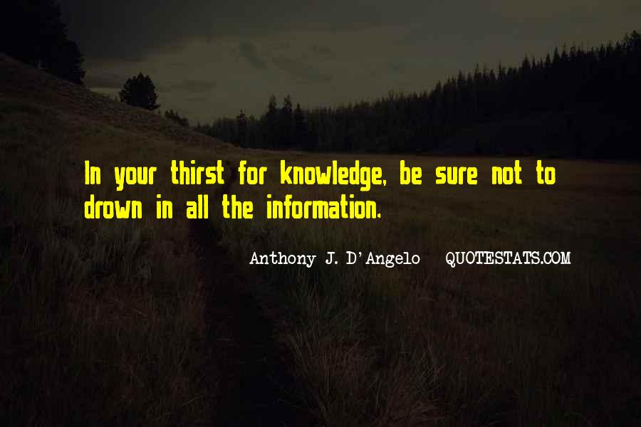 Anthony J. D'Angelo Quotes #1084867