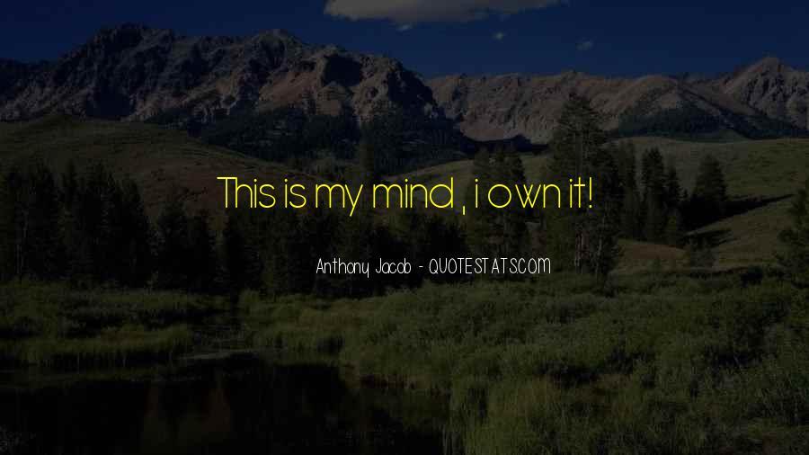 Anthony Jacob Quotes #641729