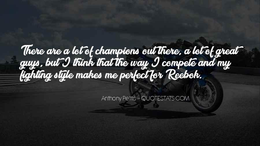 Anthony Pettis Quotes #1843533
