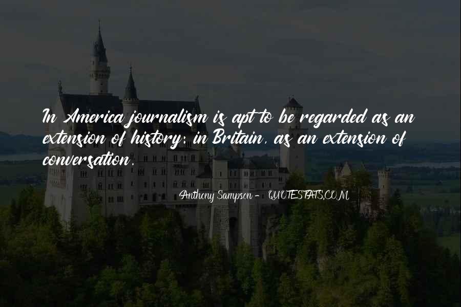 Anthony Sampson Quotes #1630568