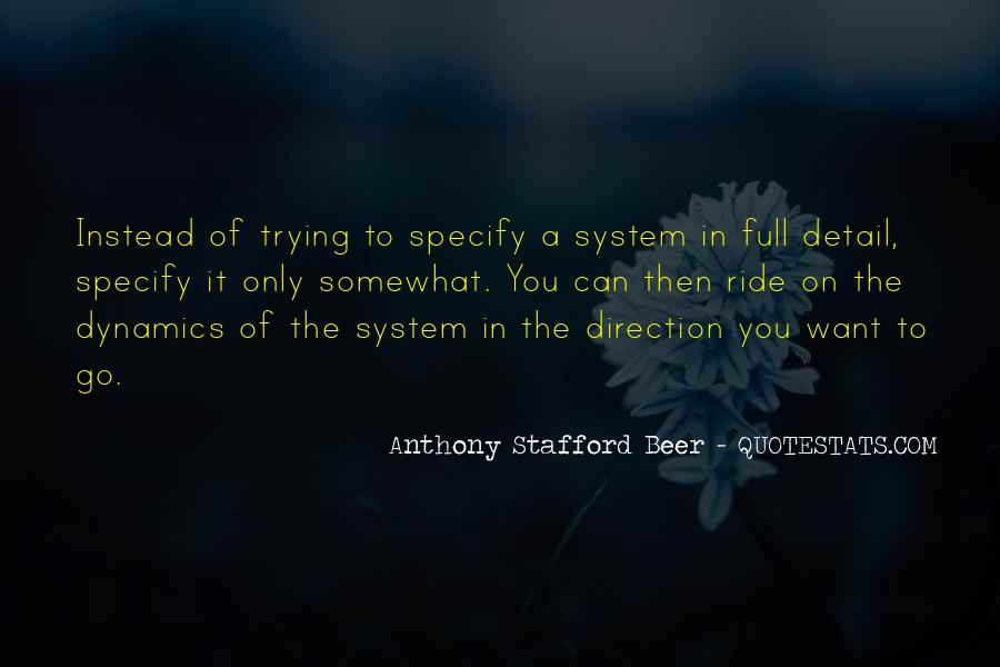 Anthony Stafford Beer Quotes #1358495