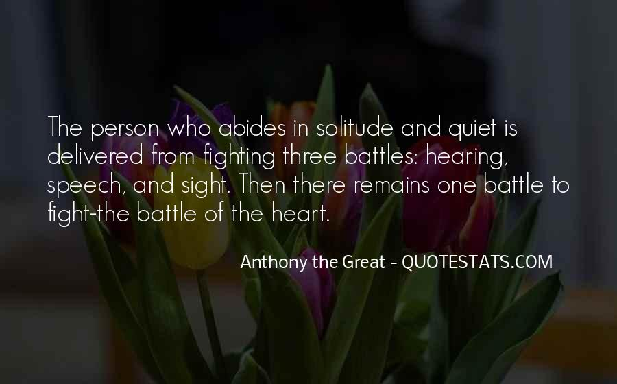 Anthony The Great Quotes #14261
