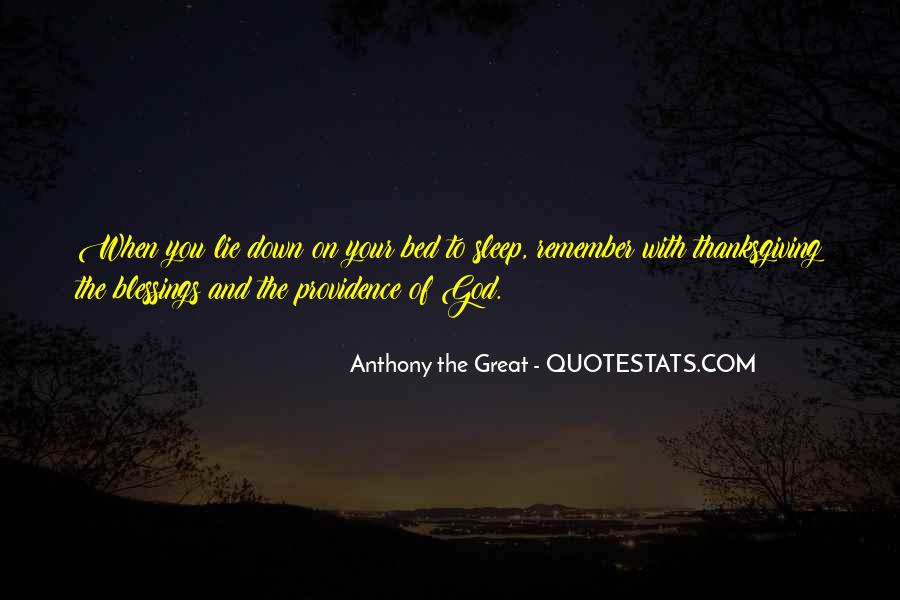 Anthony The Great Quotes #234514