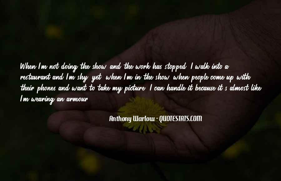 Anthony Warlow Quotes #258098