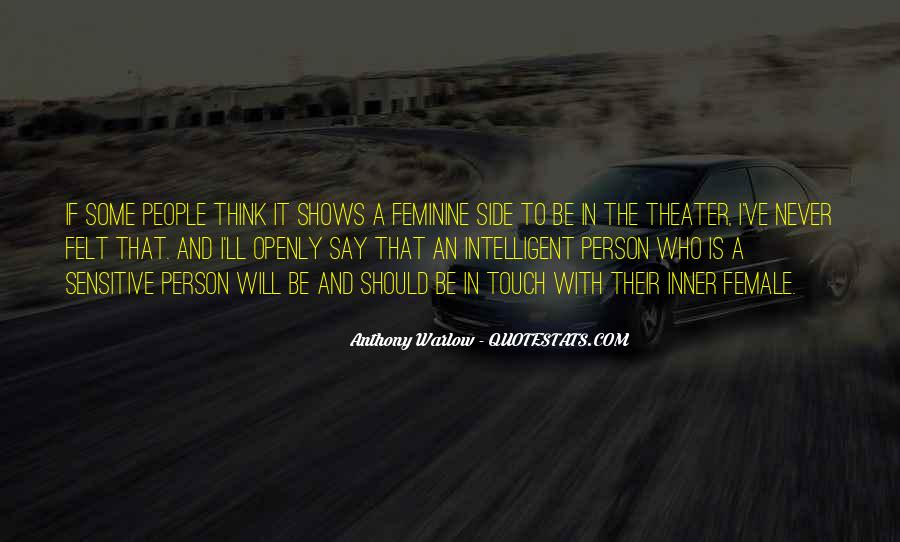 Anthony Warlow Quotes #644103