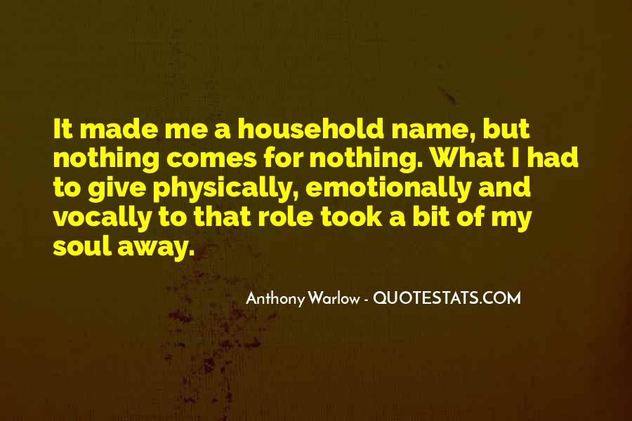 Anthony Warlow Quotes #91823