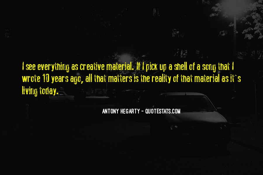 Antony Hegarty Quotes #167343