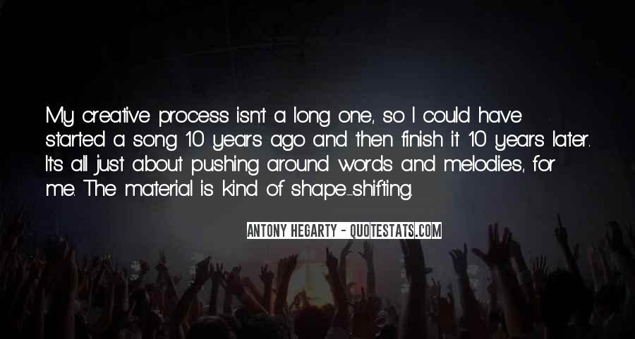 Antony Hegarty Quotes #197230