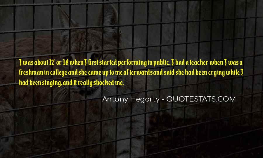 Antony Hegarty Quotes #577455