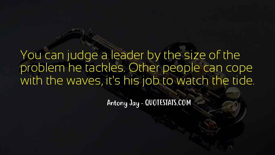 Antony Jay Quotes #307439