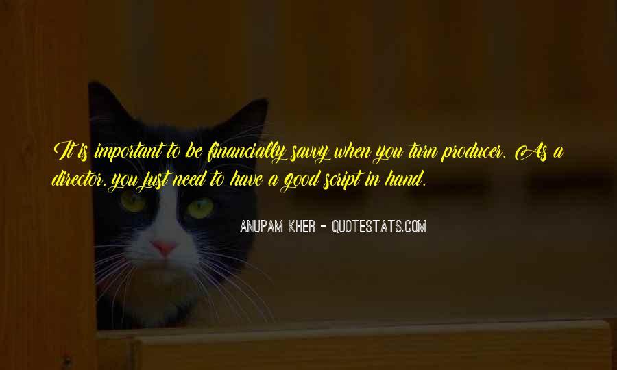 Anupam Kher Quotes #315319