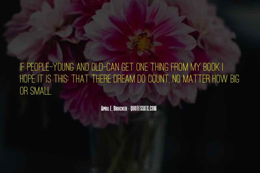 April E. Brucker Quotes #1308976