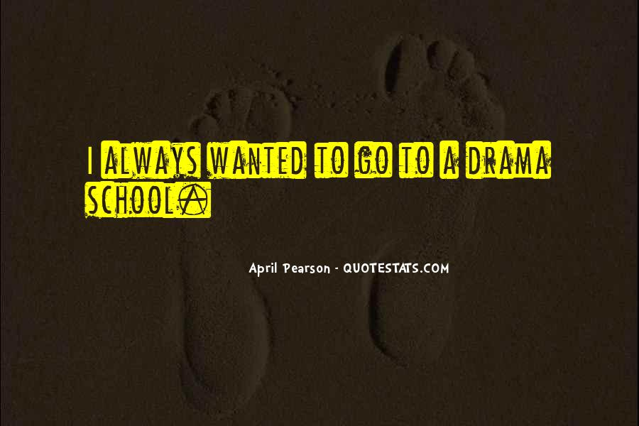 April Pearson Quotes #1030433