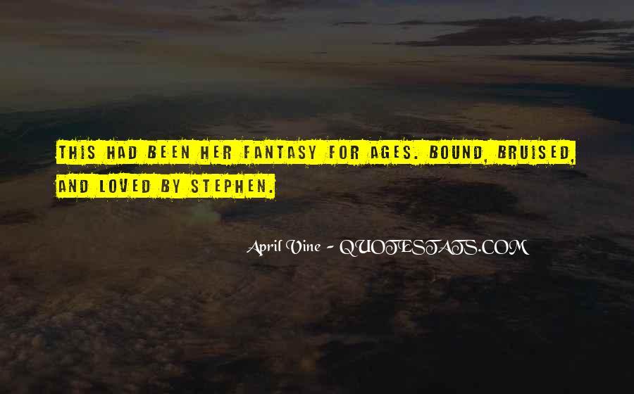 April Vine Quotes #1844692