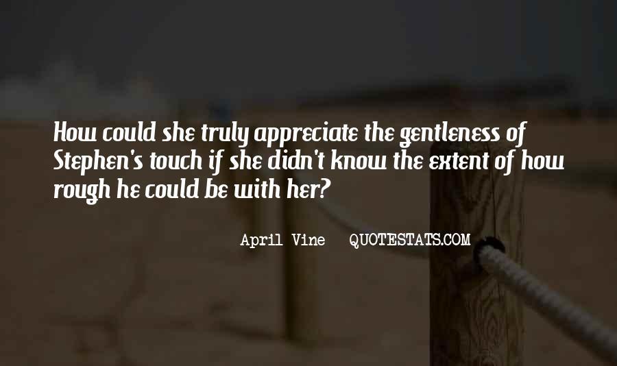 April Vine Quotes #1856005