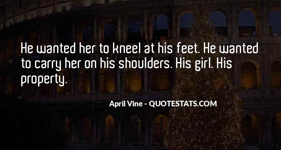 April Vine Quotes #309285