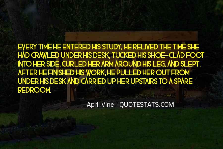 April Vine Quotes #893864