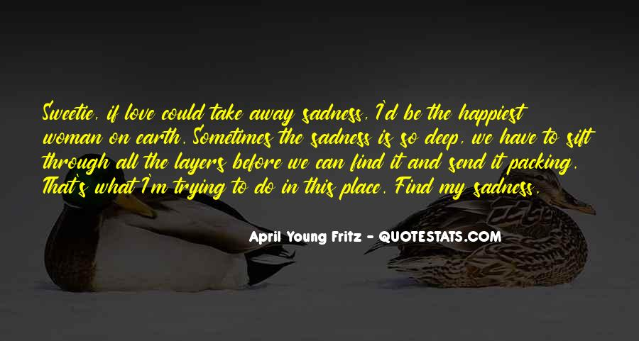 April Young Fritz Quotes #295204