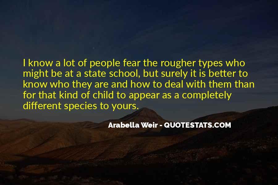 Arabella Weir Quotes #269298